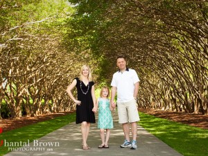 Dallas Arboretum Family Portrait Photography