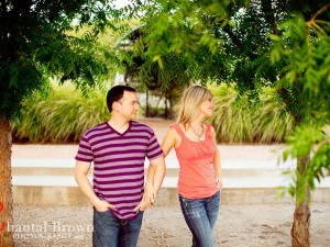 Avignon Windhaven estate garden Plano Engagement