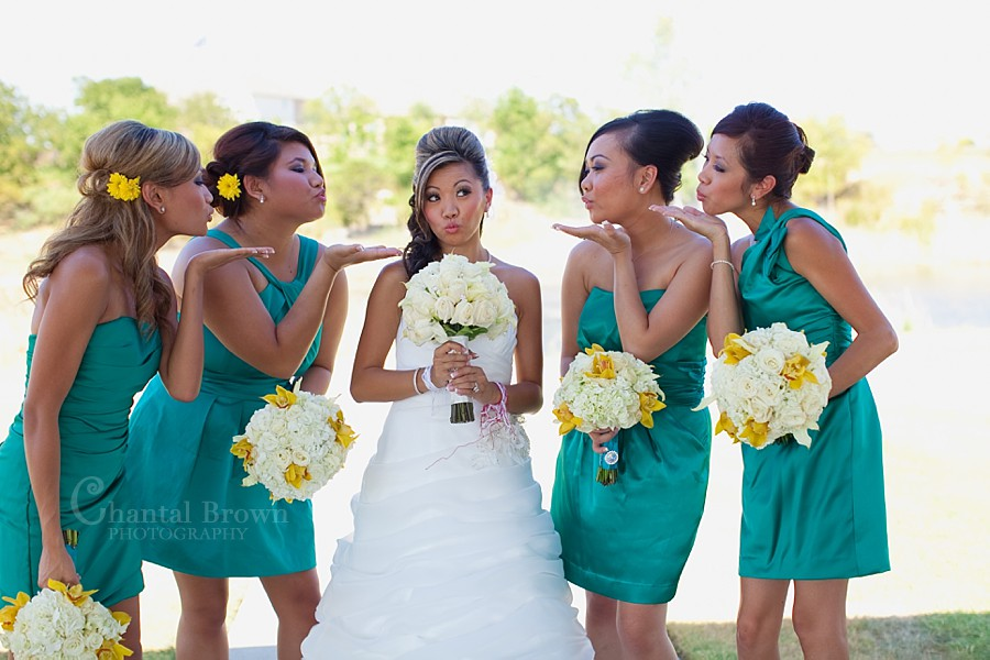 Dallas Ft Worth Cambodian Wedding bridesmaid dresses