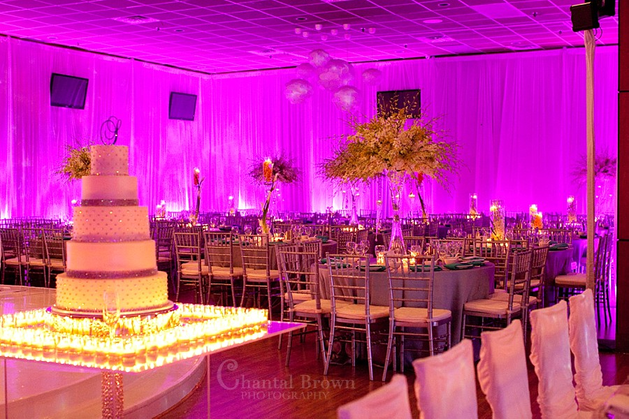 Dallas wedding reception beautiful detailed diamond crystal white roses wedding cake