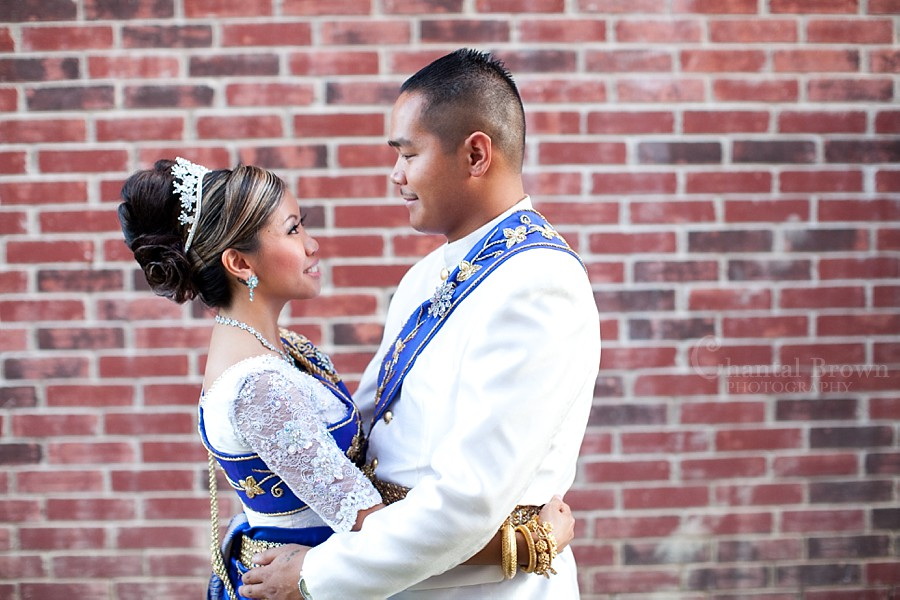 ft worth cambodian wedding bride and groom