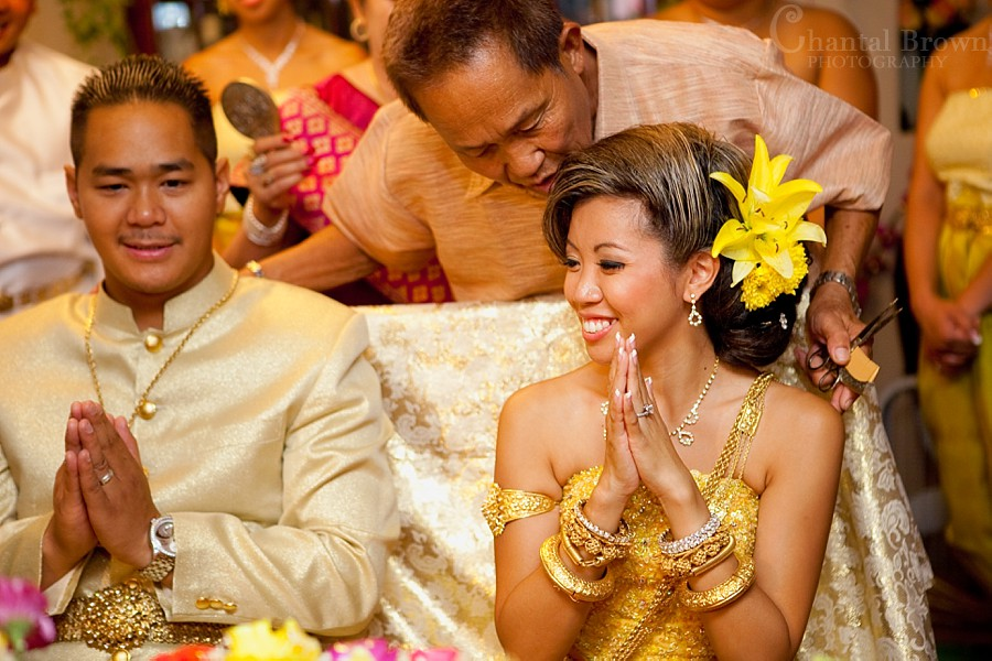 ft worth cambodian wedding bride and groom khmer ceremony