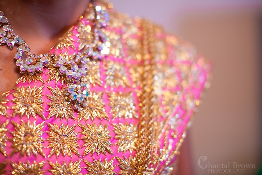 ft worth cambodian wedding sparkling pink diamond khmer outfit