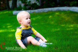 Children portrait photography in Murphy texas setting on beautiful green grass