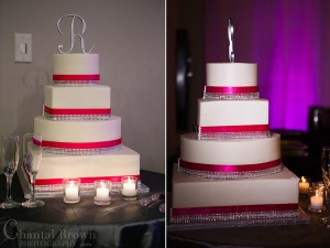 How to find the light wedding cake with diamonds and purple pink light background photography in Plano Texas