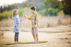 Children portrait photography at Richardson-Breckenridge-Park