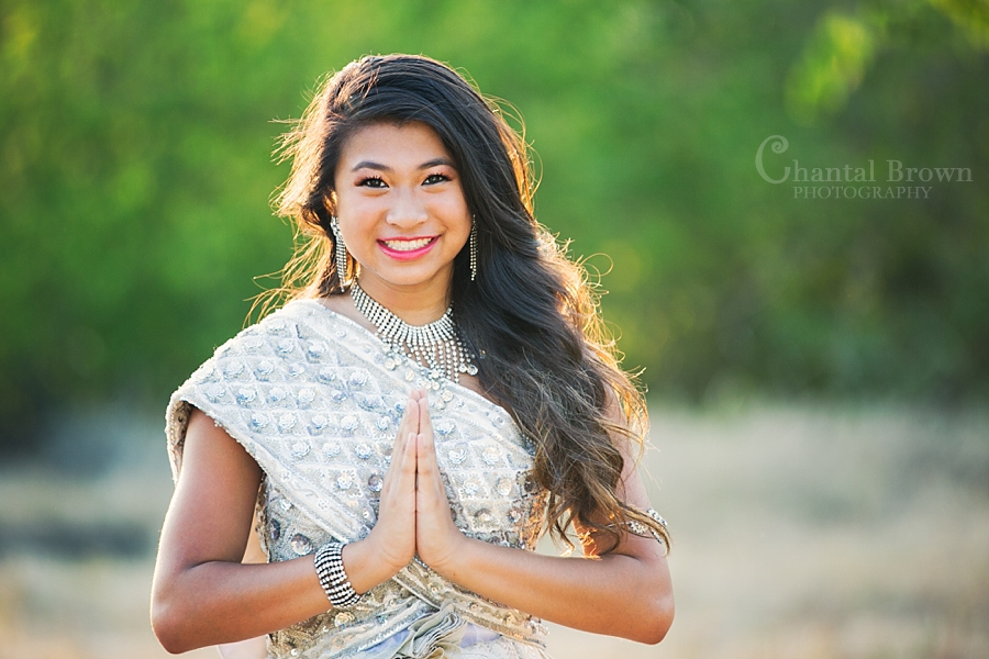 Vicky Traditional Khmer Dress Portrait Session