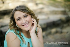 results after using white reflector side to reflect light in Mesquite Texas senior portraits