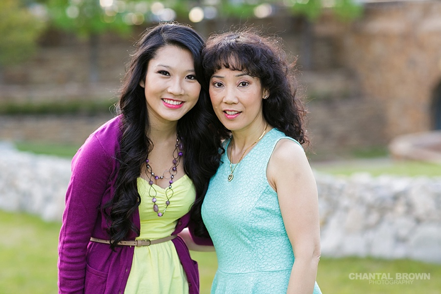 Best mother and daughter family portrait in Adriatica Village by Chantal Brown Photography in McKinney TX.