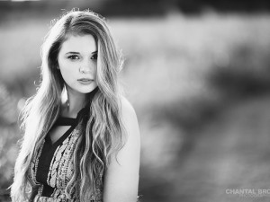 Black and white sunset Dallas senior portraits by Dallas senior portraits photographer Chantal Brown.