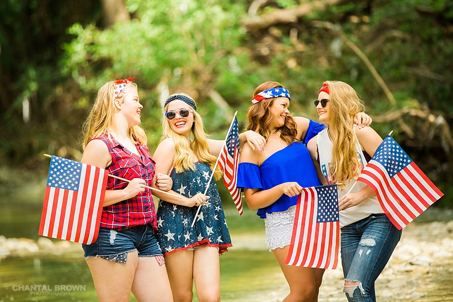 4th of july styled senior portraits for Do they have a 4th of july in england